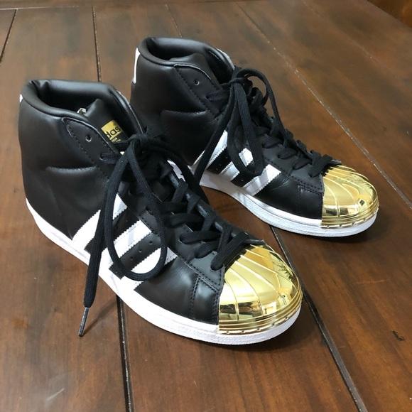 timeless design 9bd90 abb96 adidas Shoes - Adidas Originals Pro model Metal Toe Sneakers